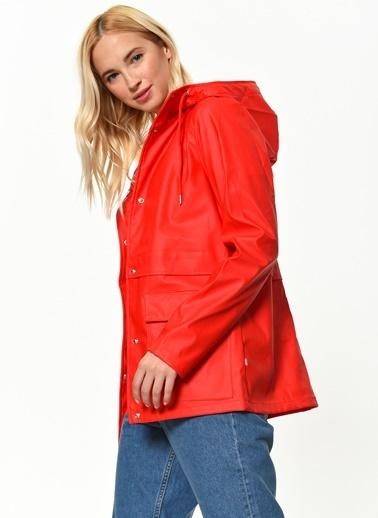 Only Yağmurluk Kırmızı